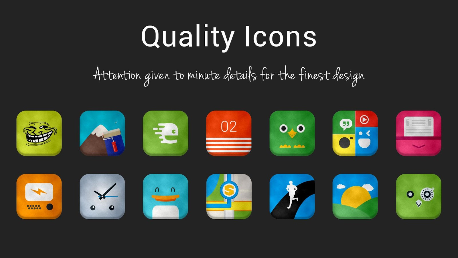 Vellum HD Icon Pack Screenshot 4
