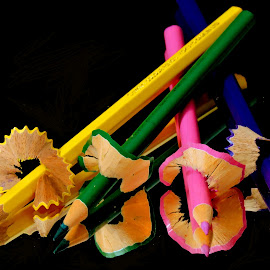 PENCILS by SANGEETA MENA  - Artistic Objects Education Objects