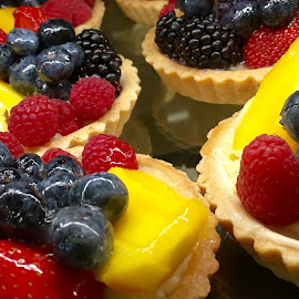 Mini Fruit Tarts by Lope Piamonte Jr - Food & Drink Cooking & Baking