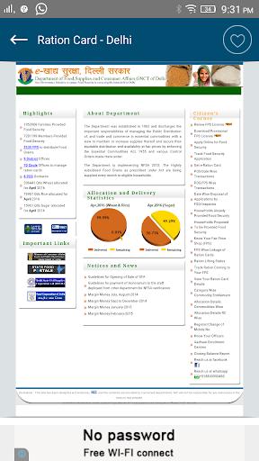 lhigovin Delhi: Apply Online for for New Ration Card