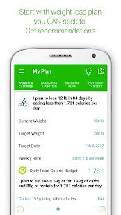 Calorie Counter Mynetdiary Screenshot Thumbnail