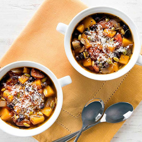 Organic Hearty Black Bean and Pumpkin Soup