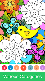 Paint.ly Color by Number - Fun Coloring Art Book🌺