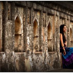 Jamali Kamali by Debajit Bose - Buildings & Architecture Public & Historical ( india, architecture, ancent, delhi, jamali kamali )