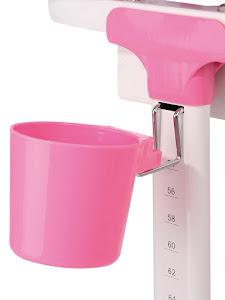 Стаканчик-держатель, аксессуар для растущей парты, розовый