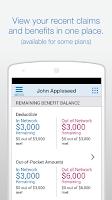 Screenshot of Empire BlueCross BlueShield