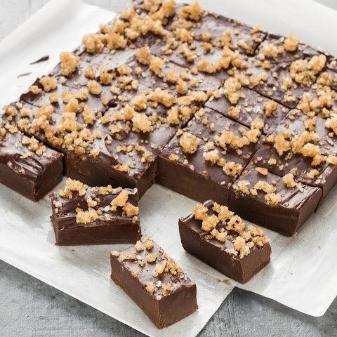Dark Chocolate Bourbon Fudge