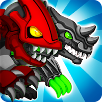 Dino Robot Wars: City Driving and Shooting Game For PC