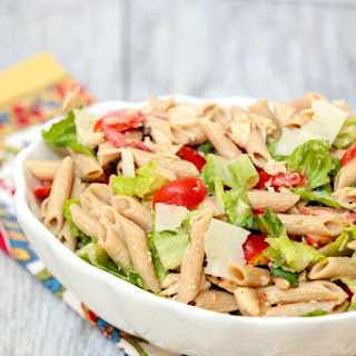Caesar Pasta Salad with Chicken