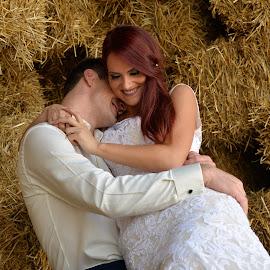 by Sasa Rajic Wedding Photography - Wedding Bride & Groom ( love, kiss, wedding photography, weddings, wedding, wedding photographer )