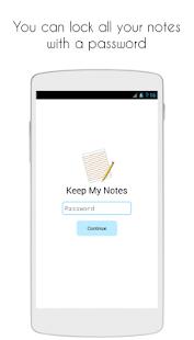 Keep My Notes - Notepad & Memo- screenshot thumbnail
