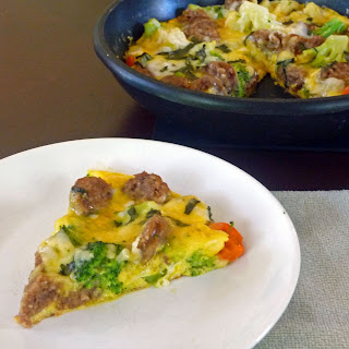 Italian Frittata Cheese Sausage Recipes