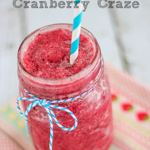 Copycat Jamba Juice Cranberry Craze