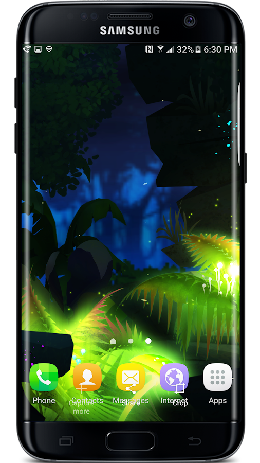 Firefly Jungle Live Wallpaper Screenshot 0