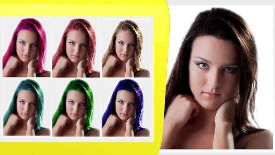 Easy Hair Color Changer - screenshot