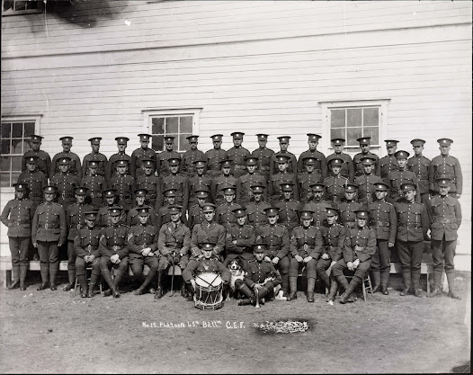 "University of Saskatchewan Archives & Special Collections, MG 289 - Brock Silversides fonds, series 8.4, ""Men of the 15th Platoon, 65th Battalion CEF"""