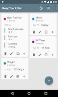Screenshot of KeepTrack Pro