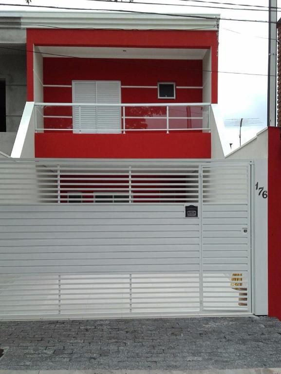 Sobrado Residencial à venda, Jardim Santo Ignácio, São Bernardo do Campo - SO0314.