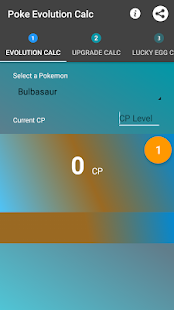Poke Evolution Calc- screenshot thumbnail