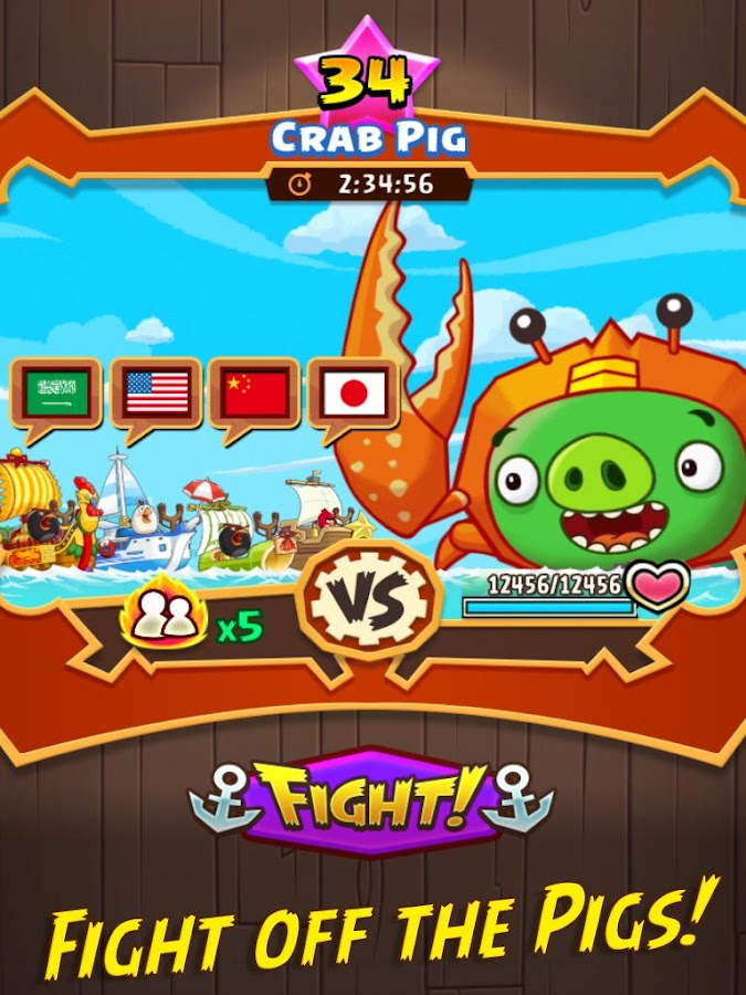 Angry Birds Fight! RPG Puzzle Screenshot 16