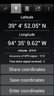 Share My GPS Coordinates Pro- screenshot thumbnail