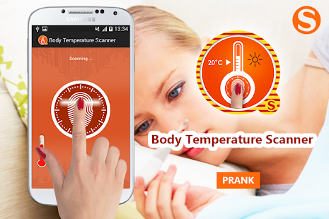 Fingerprint Temperature Prank - screenshot
