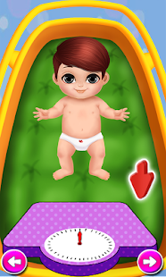 Newborn Baby Care - baby games - screenshot