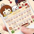 App Cute Cartoon Cat Keyboard Theme Sweet Little Kitty apk for kindle fire