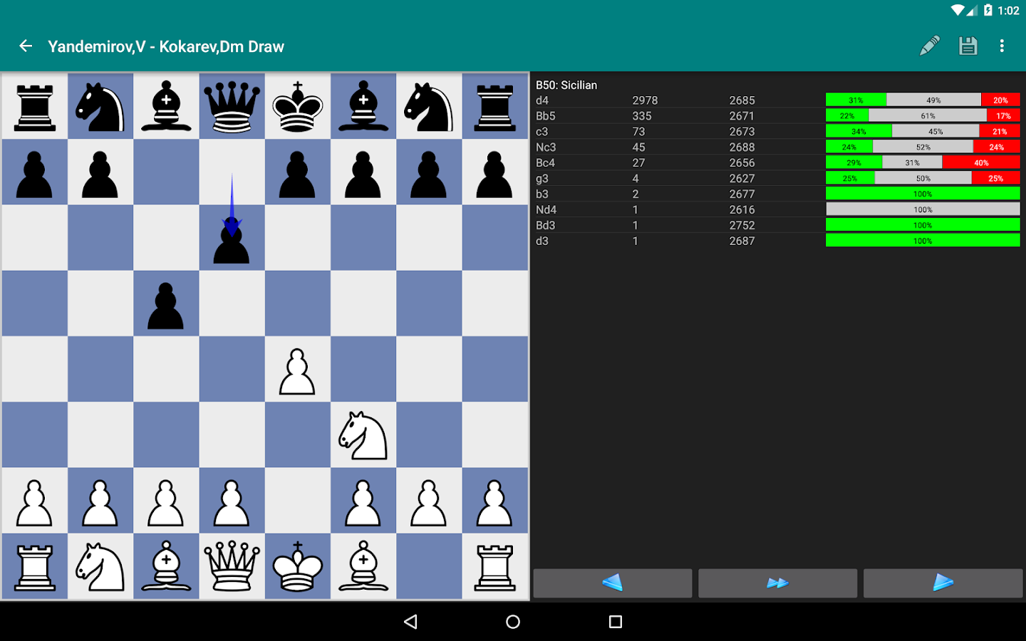 Perfect Chess Database Screenshot 11