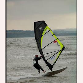 Wind surfer  by Jan Fox - Sports & Fitness Watersports ( wind surfer )