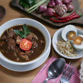 Rawon by Ario Suhodo - Food & Drink Eating ( sweet, food, indonesia, spicy, indonesian food )