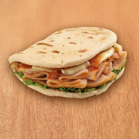 Turkey and Brie Foldit® Flatbread Sandwich