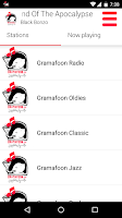 Screenshot of GramaFoon Radio جرامافون راديو