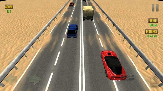 Traffic Race 3D: Burnout - screenshot