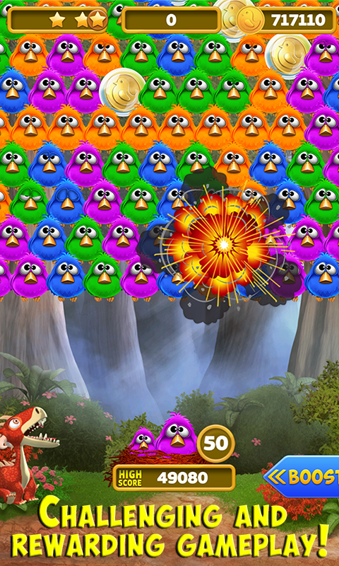 Bubble Shooter Birds Screenshot 0
