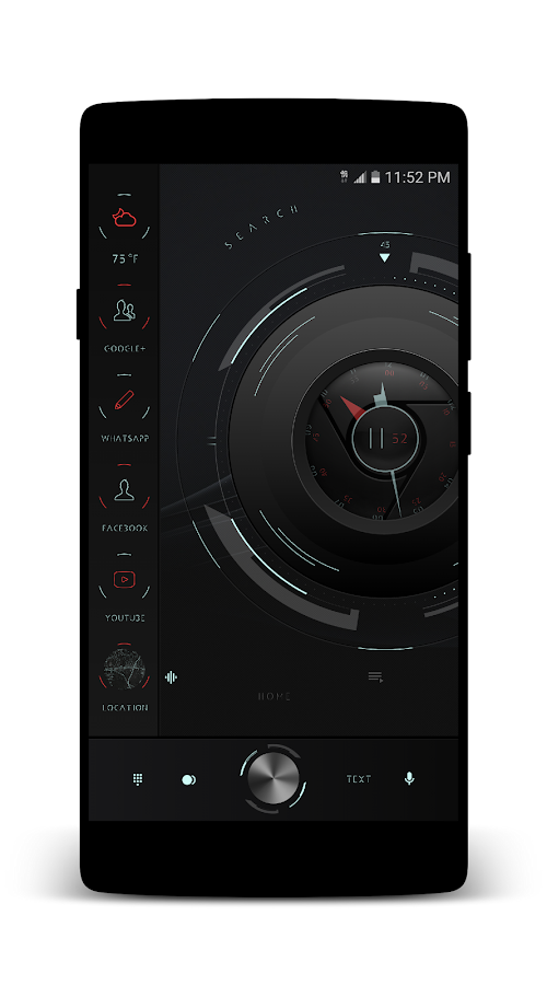 cLockk UI for KLWP Screenshot 3