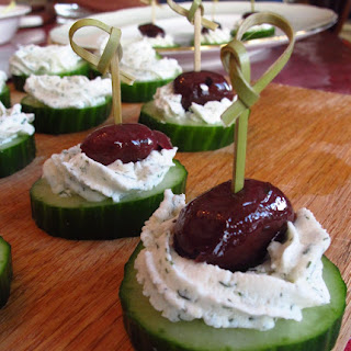 Olive Cheese Skewers Recipes