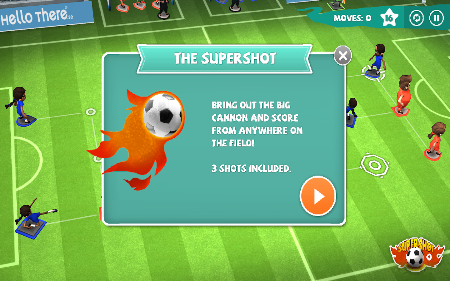 Find a Way Soccer: Women's Cup Screenshot 11