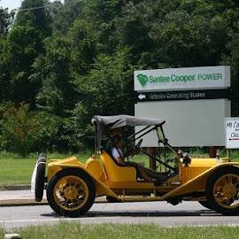 COUNTRY RIDE by Douglas Edgeworth - Transportation Automobiles