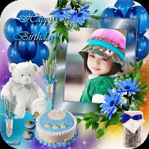 Free Download Birthday Cake Photo Frame APK for Blackberry