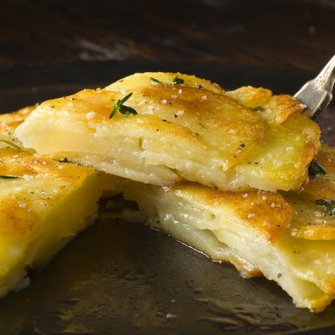 Crisp Potato Cake (Galette de Pomme de Terre) Recipe | Yummly