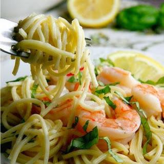 Creamy Lemon Shrimp Pasta Recipes