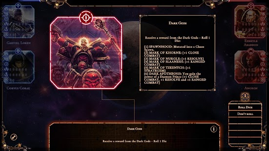 Talisman: The Horus Heresy- screenshot thumbnail