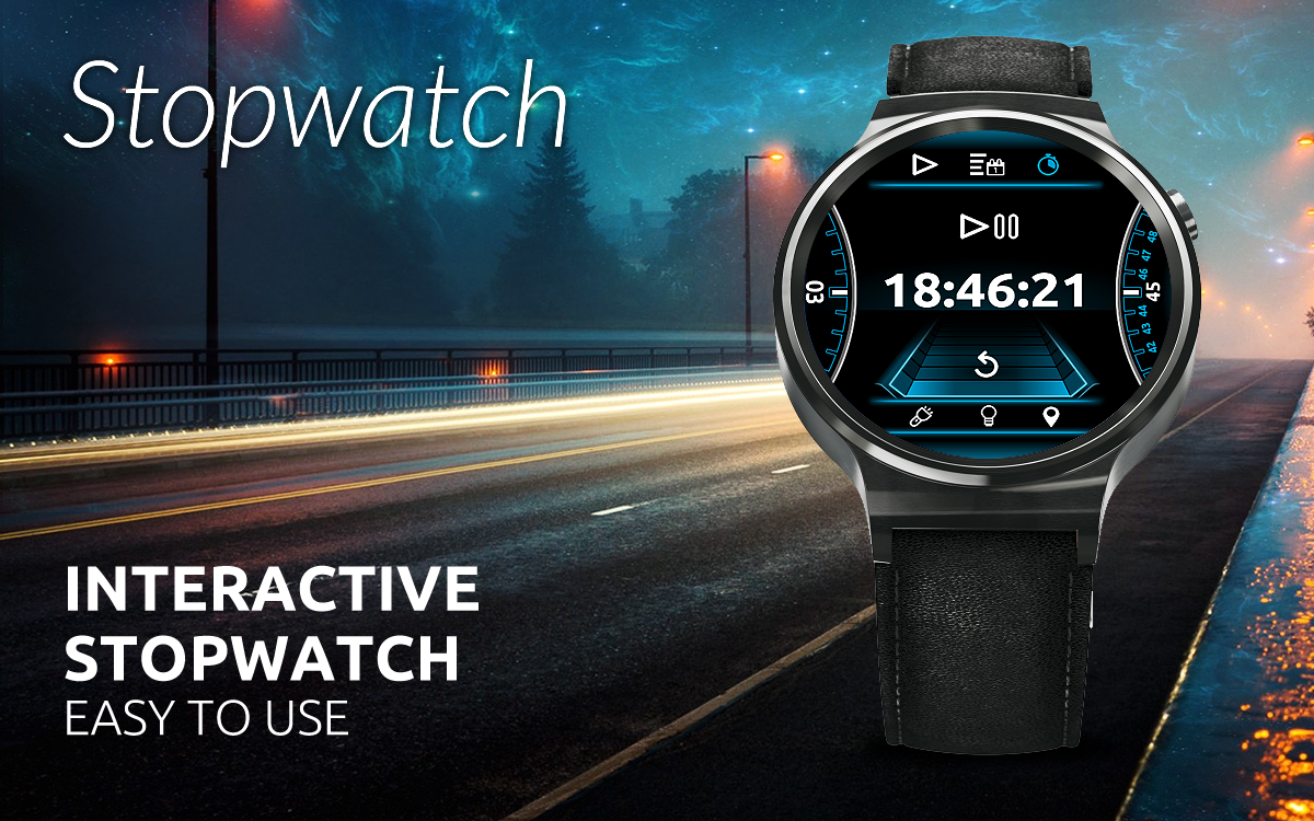 SmartDrive Watch Face Screenshot 4