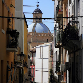 Alicante Old Town by Helen Roberts - City,  Street & Park  Historic Districts