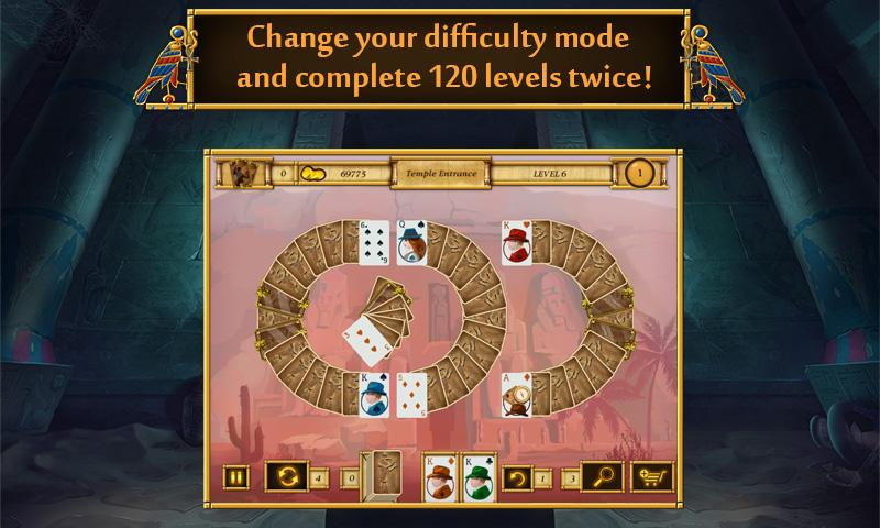 Solitaire Egypt Match Screenshot 4