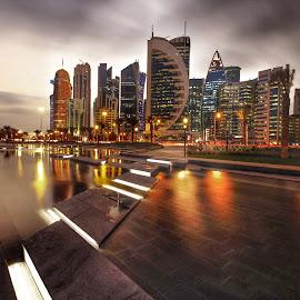 by Roberto Bontigao - City,  Street & Park  Skylines