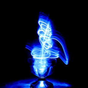 magic cup by Hangga Pribadi - Abstract Light Painting