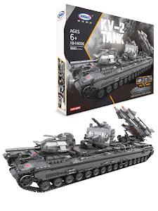 """Конструктор серии """"BrickBattle"""", многобашенный танк, XXL"""