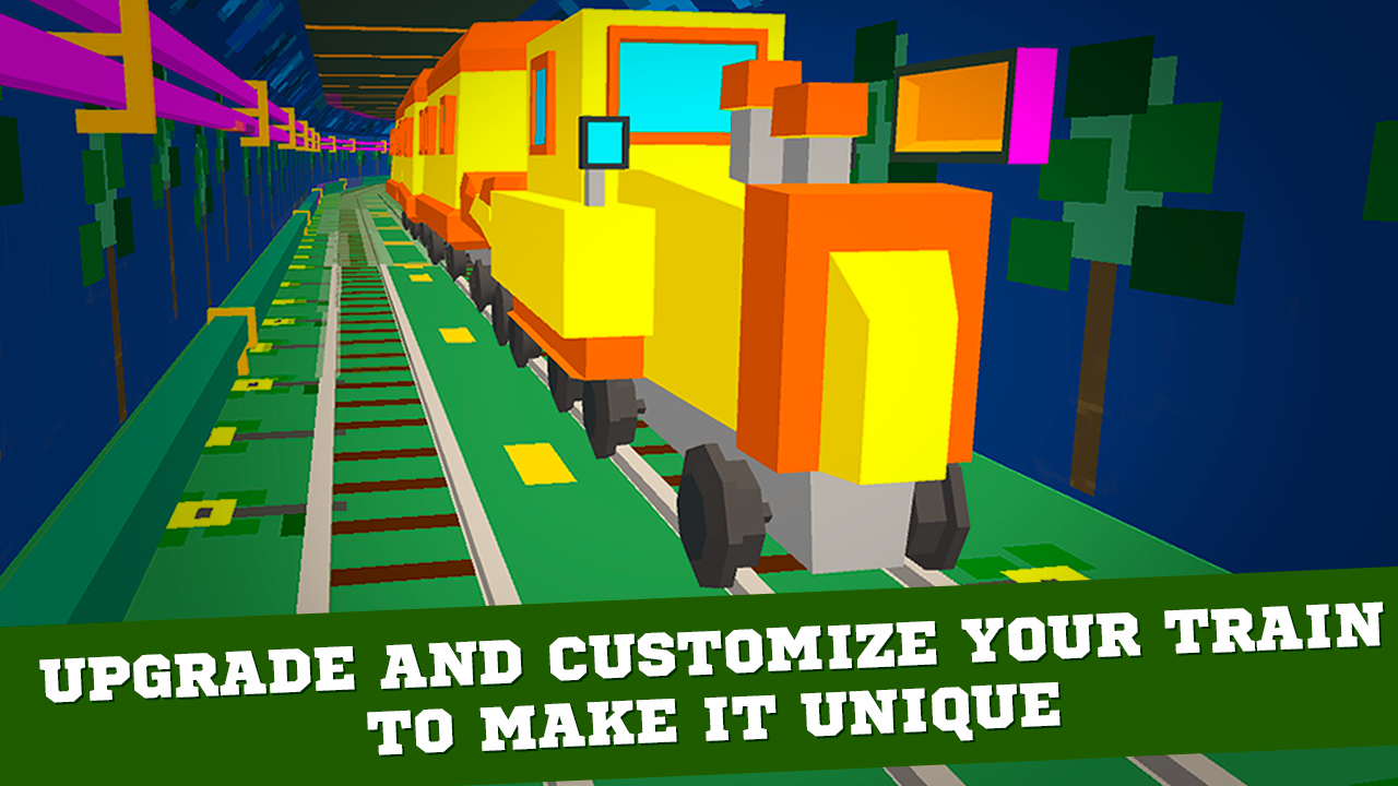 Cube Subway Train Simulator 3D Screenshot 4